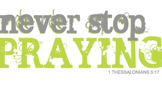 Autumn Prayer Week